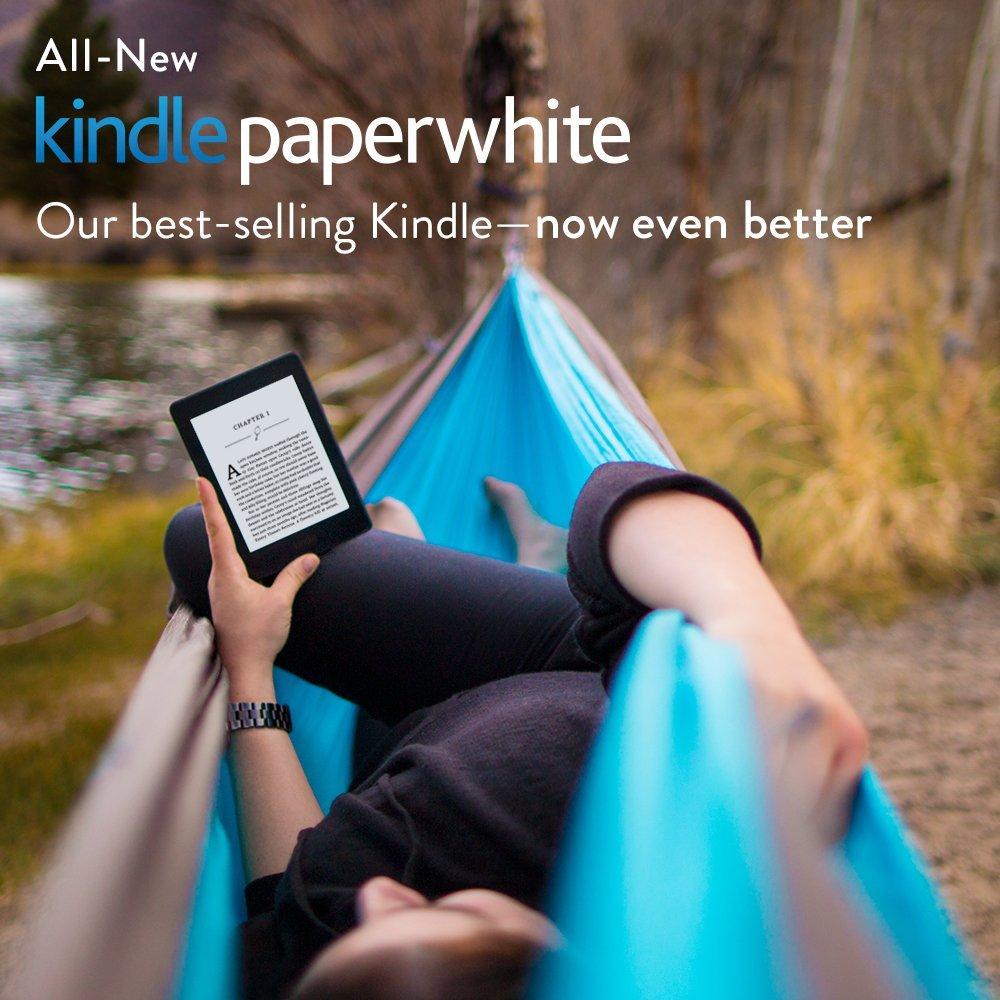 Czytnik Kindle Paperwhite 3 - zabierz go ze sobą!